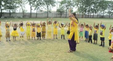 Junior Yellow Day Celebration
