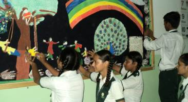 Inter-House Board Decoration Competition