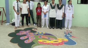 Inter-House Rangoli Competition