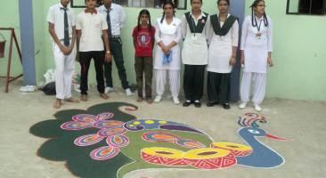 Inter-House Rangoli Competition