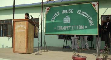 Inter-House English Elocution Competiton